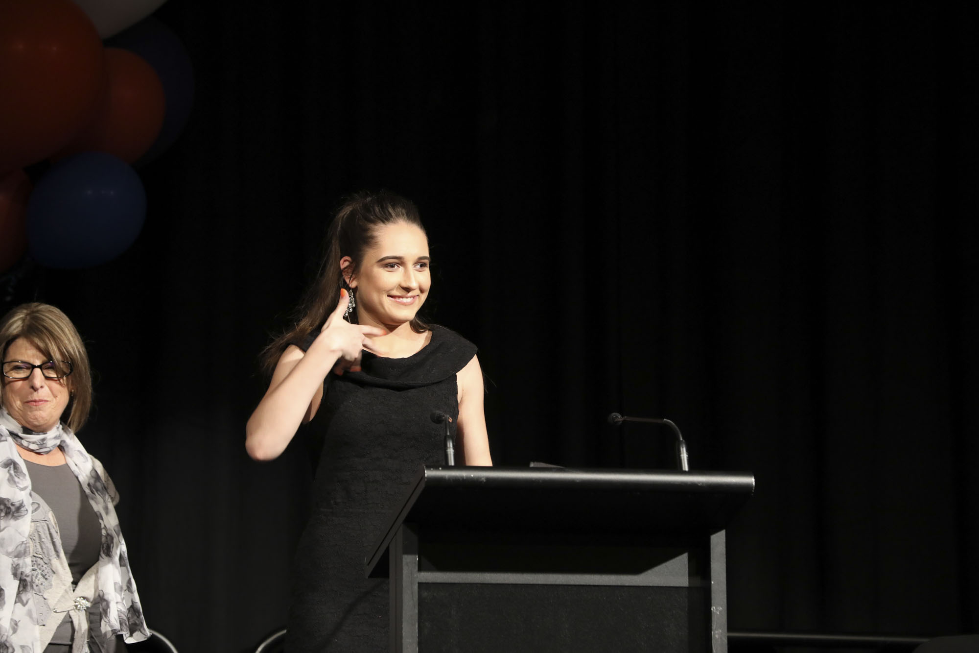 Vanessa Vlajkovic, formerly of Mount Lawley Senior High School, is a 20 year old university student living with DeafBlindness. Vanessa presented on the ups and the downs of her education experience, as well as her many achievements.