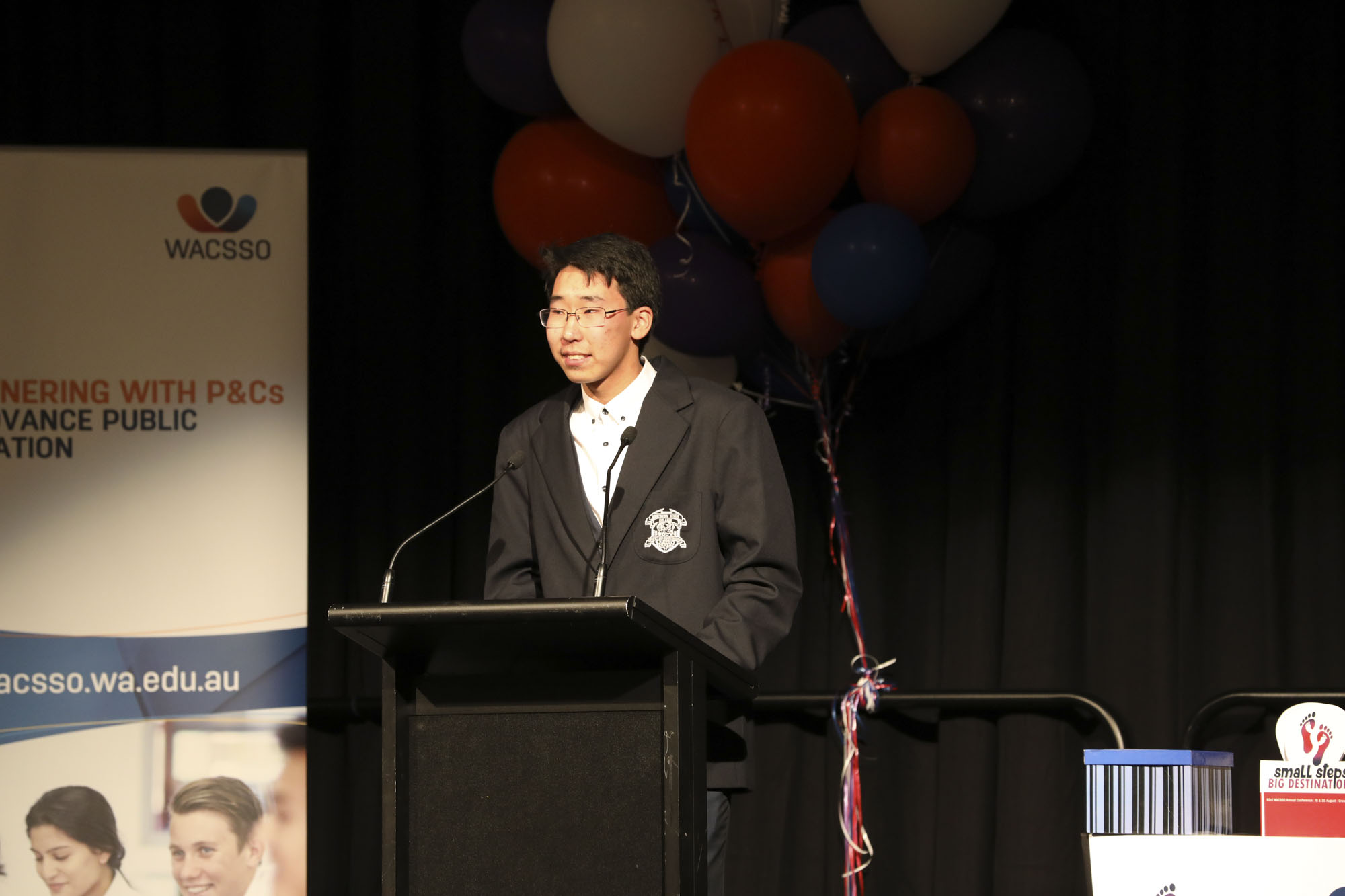 Tenuun Sanjaadorj, of Southern River College, moved to Australia with his family at the age of 7. Tenuun shared his experiences in the WA school system and his perspective on how the system could improve.